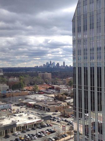 Grand Hyatt Atlanta in Buckhead: Awesome view from my room on midtown.