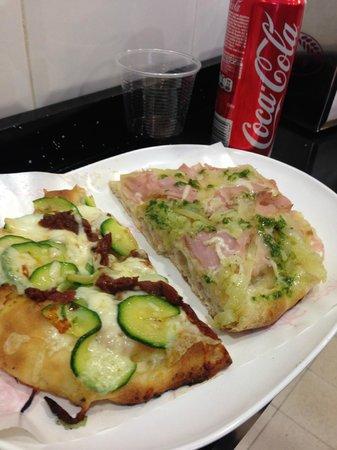 Pinsere: zucchine, patate e prosciutto