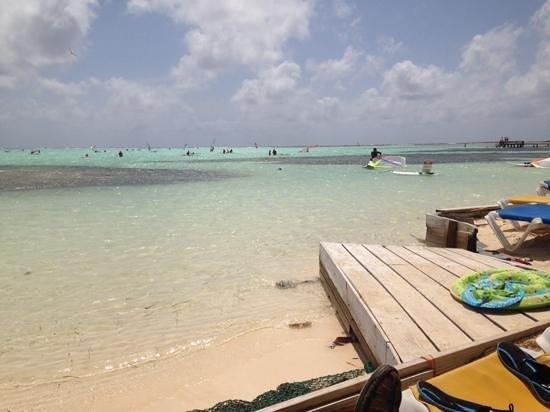 Sorobon Beach & Wellness Resort: Playa Sorobon