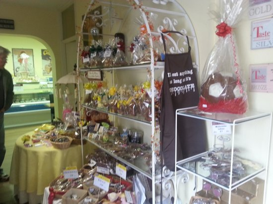Market Rasen, UK: chocolate heaven