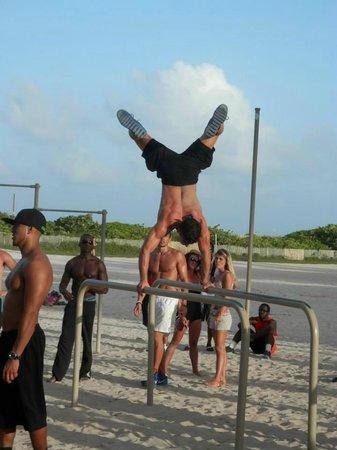 Lummus Park Beach : Atleti