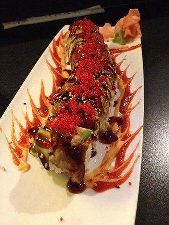 Sake2Me Sushi : Dragon Roll