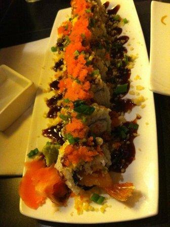 Sake2Me Sushi : Captain Crunch Roll