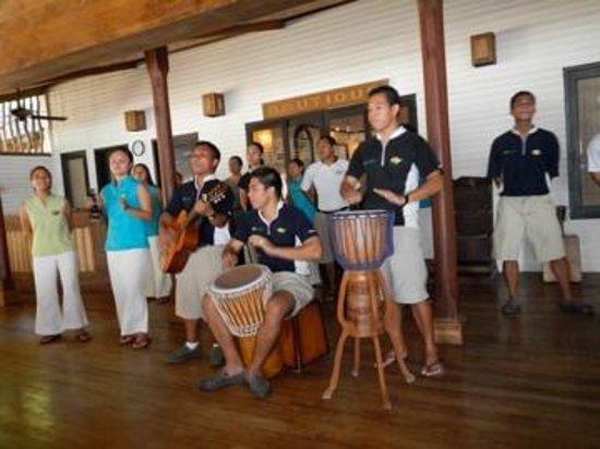 El Nido Resorts Miniloc Island: Arrival