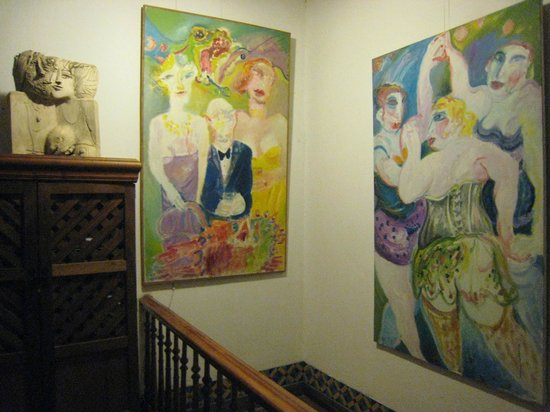 Hostal Cerro Alegre: Hostal Treppenaufgang zum Zimmer