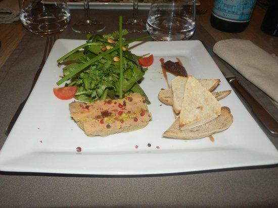 L'Hotel Cesar : foie gras fait maison