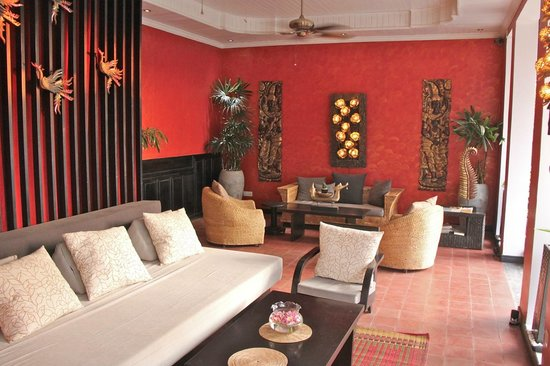 Mulberry Boutique Hotel: Very comfortable lounge area.