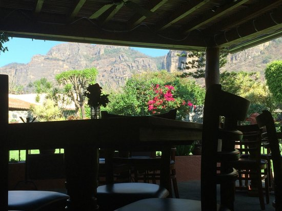 Villa del Tepoz Fuego: View from the Restaurant