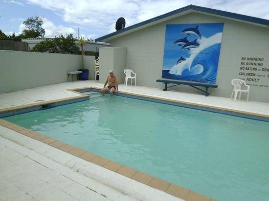 Kaitaia Motor Lodge: Lovely pool