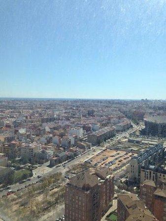 Hotel Melia Valencia : Het uitzicht van de 25ste verdieping