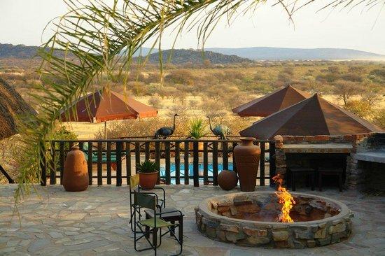 Toko Lodge & Safaris: View from the Pool