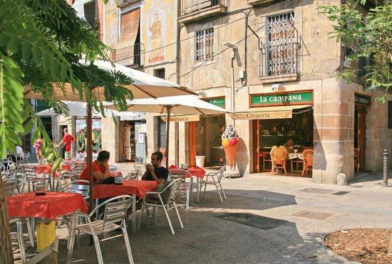 Terraza en la tienda c flassaders barcelona fotograf a for La terraza barcelona