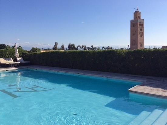Les Jardins de La Koutoubia : rooftop pool