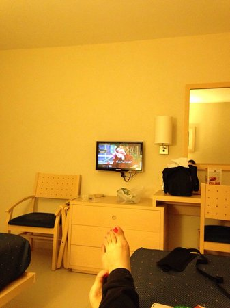 City Express Playa del Carmen: La habitación.