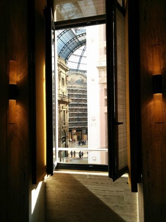 Park Hyatt Milan: View from our room