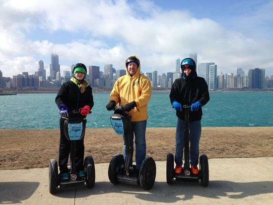 Steve's Segway Tours: ask for Freddy.....