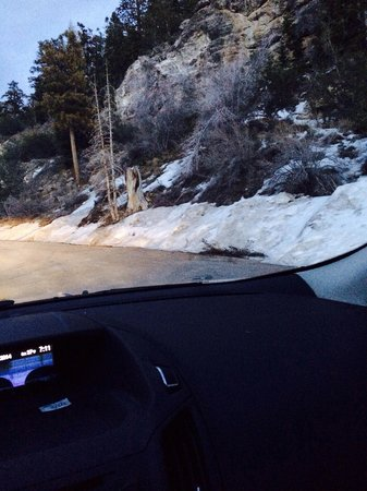 Mount Charleston : Snow in March