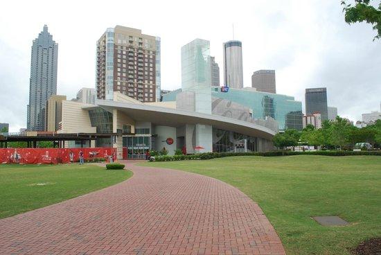 World of Coca-Cola : edificio