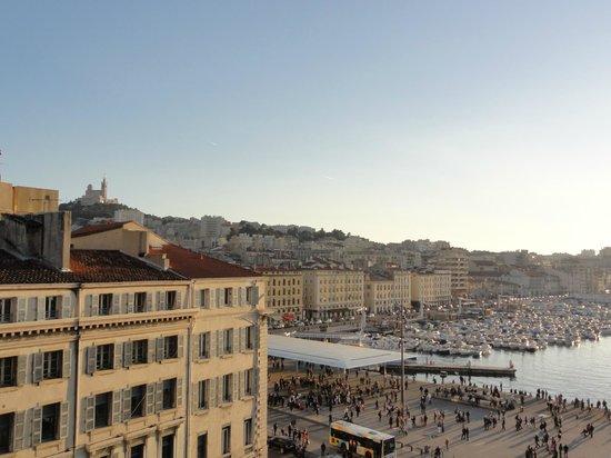 Escale Oceania Marseille Vieux Port: Vue depuis la chambre