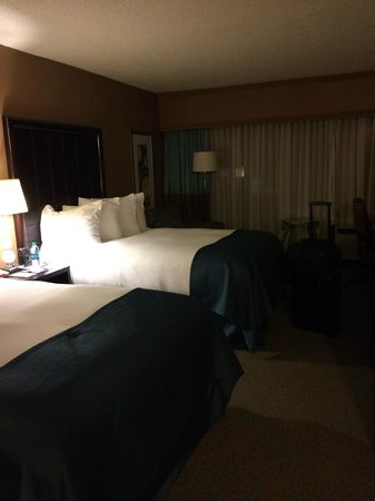 DoubleTree by Hilton Hotel Columbus : Double Bed Room
