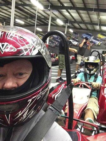 Tampa Bay Grand Prix : Myself and Damien