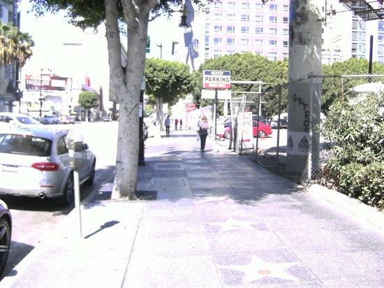 Handlery Hotel San Diego: L.A. Walk of Fame