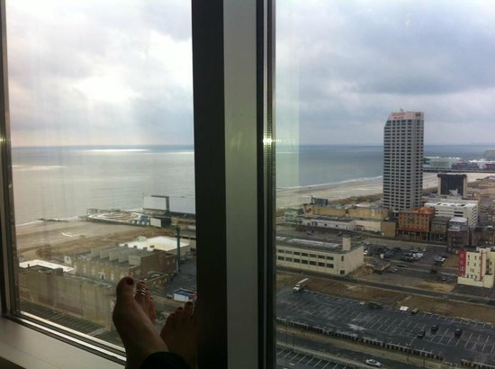 Resorts Casino Hotel: south view suite 5118
