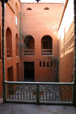 Ecomusee Berbere : The central courtyard.
