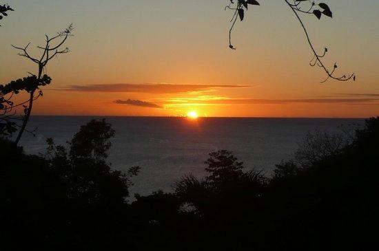 Villa Pomme d'Amour: Sunset