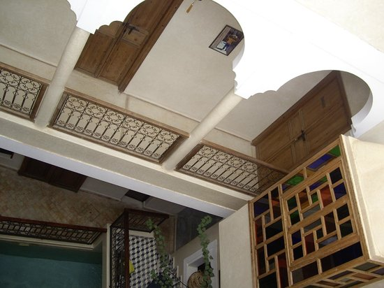 Riad Sidi Mimoune : Vue depuis les etages