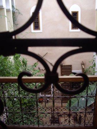 Riad Sidi Mimoune : vue depuis notre chambre