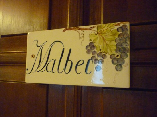 Hotel Boutique Bellavista de Colchagua: sign on the doors