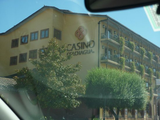 Hotel Boutique Bellavista de Colchagua: 1. this casino is in town and you'll pass it on the way to the B & B