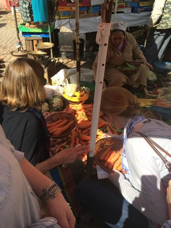Souk Cuisine : the vegetable market