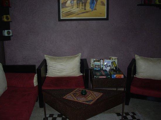 Riad Sidi Mimoune : petit salon