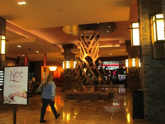 Downstream Casino Resort : lobby