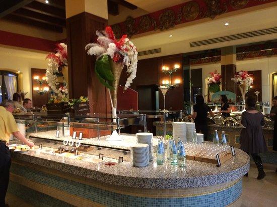 Hilton Molino Stucky Venice Hotel: Buffet colazione