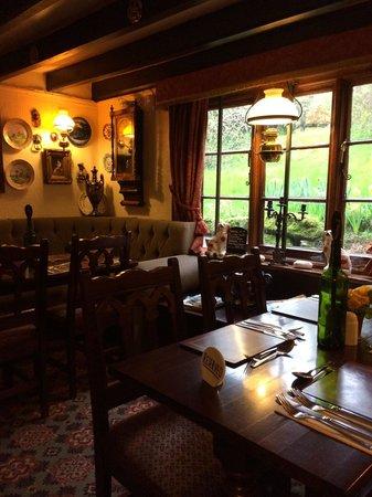 The Tavern: Having dinner
