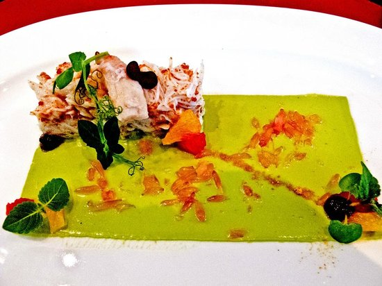 Bocuse Restaurant : Dungeness Crab with whipped Avocado