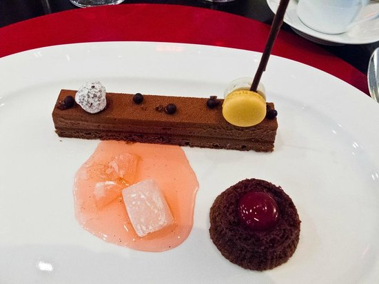 Bocuse Restaurant : Cocolate & Chocolate desert