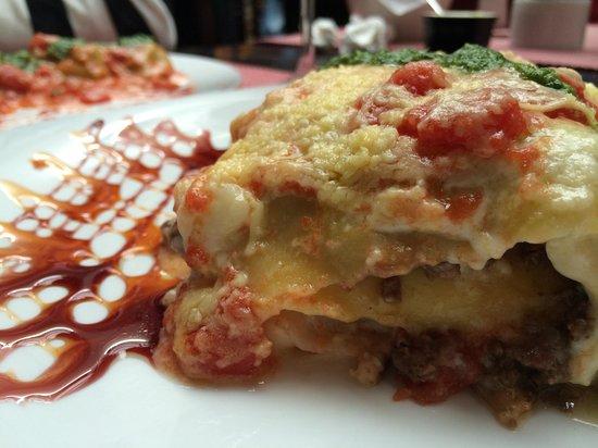 Resto Pastas Milajo: Lasagna del abuelo.. Súper recomendable !!!