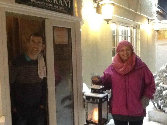 Hunters Lodge Inn: Welcome! - whatever the weather!