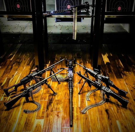 Strip Gun Club: A floor full of fun