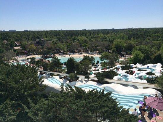 Disney's Blizzard Beach Water Park: Vista superior