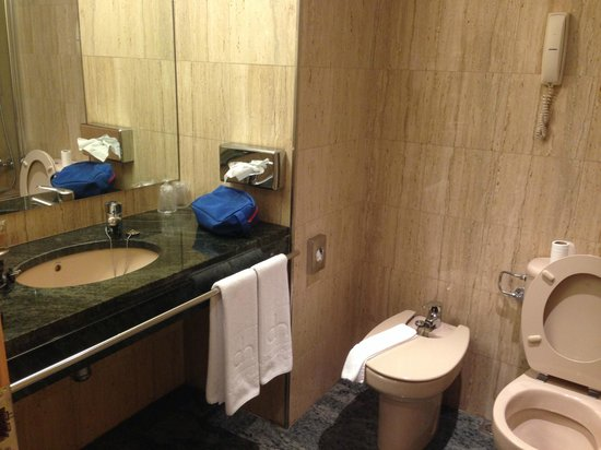Golden Tulip Andorra Fenix Hotel: baño