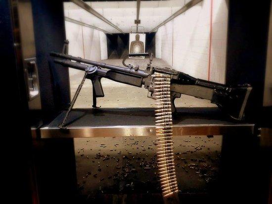 Strip Gun Club: M60 belt fed machine gun