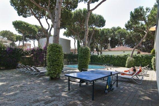 Apartamentos Porta Coeli: Zona de piscina