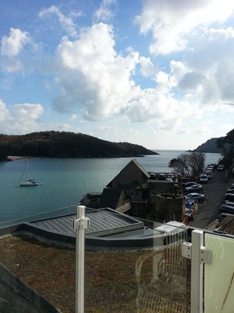Salcombe Harbour Hotel & Spa: View from our room