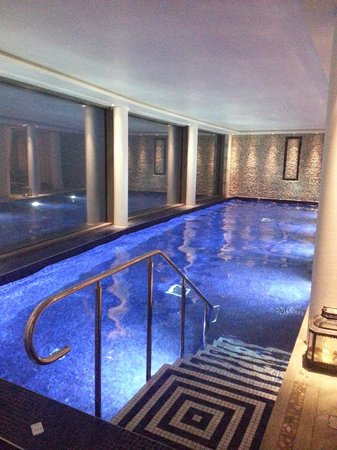 Salcombe Harbour Hotel & Spa: The pool