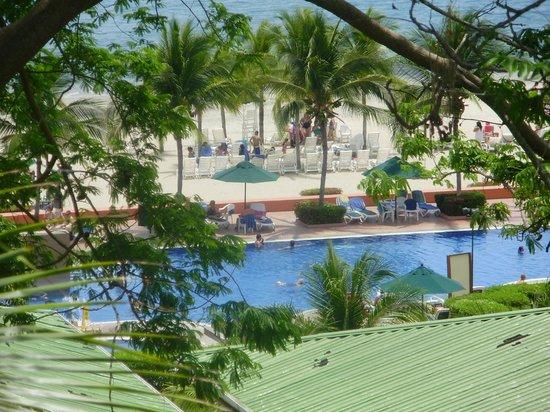 Royal Decameron Golf, Beach Resort & Villas : vista desde el balcon
